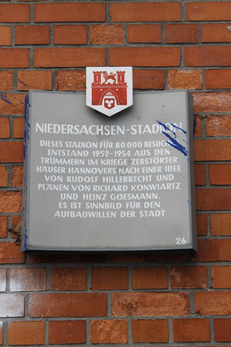 Stadttafel Niedersachsenstadion