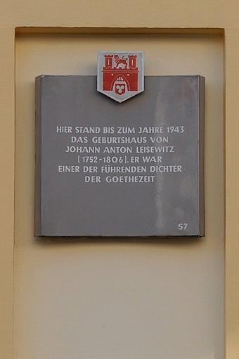 Geburtshaus von Johann Anton Leisewitz (Foto: Detlef René Spanka)
