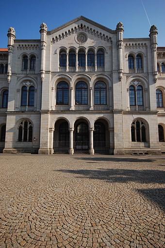Ehem. Gebäude der Staatsregierung (Foto: Detlef René Spanka)