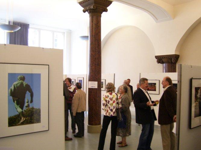 Ausstellungseröffung Blauer Faden