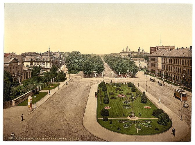 Königsworther Platz um 1896
