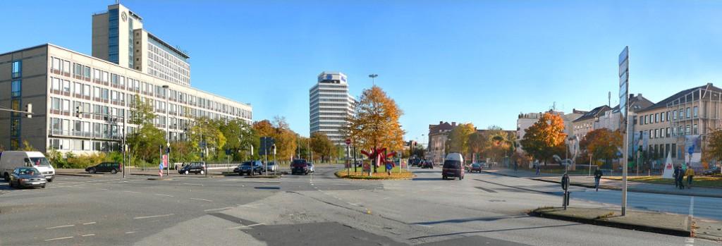 Panorama Königsworther Platz