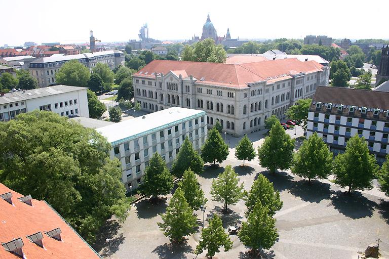 Ausblick vom Turm der Neustädter Hof- und Stadtkirche (© Thomas Christes)