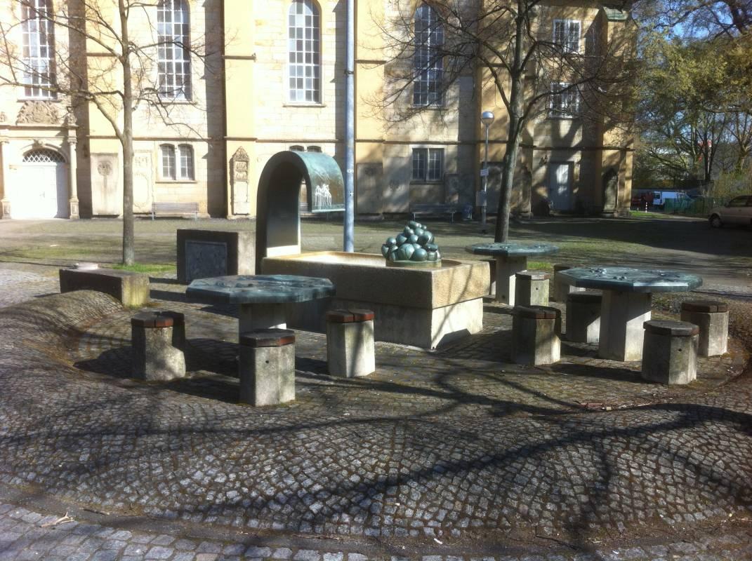 Tischbrunnen