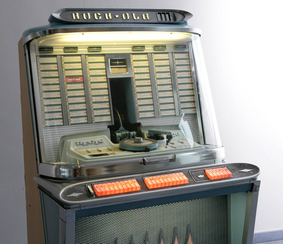 Phono Jukebox von 1961