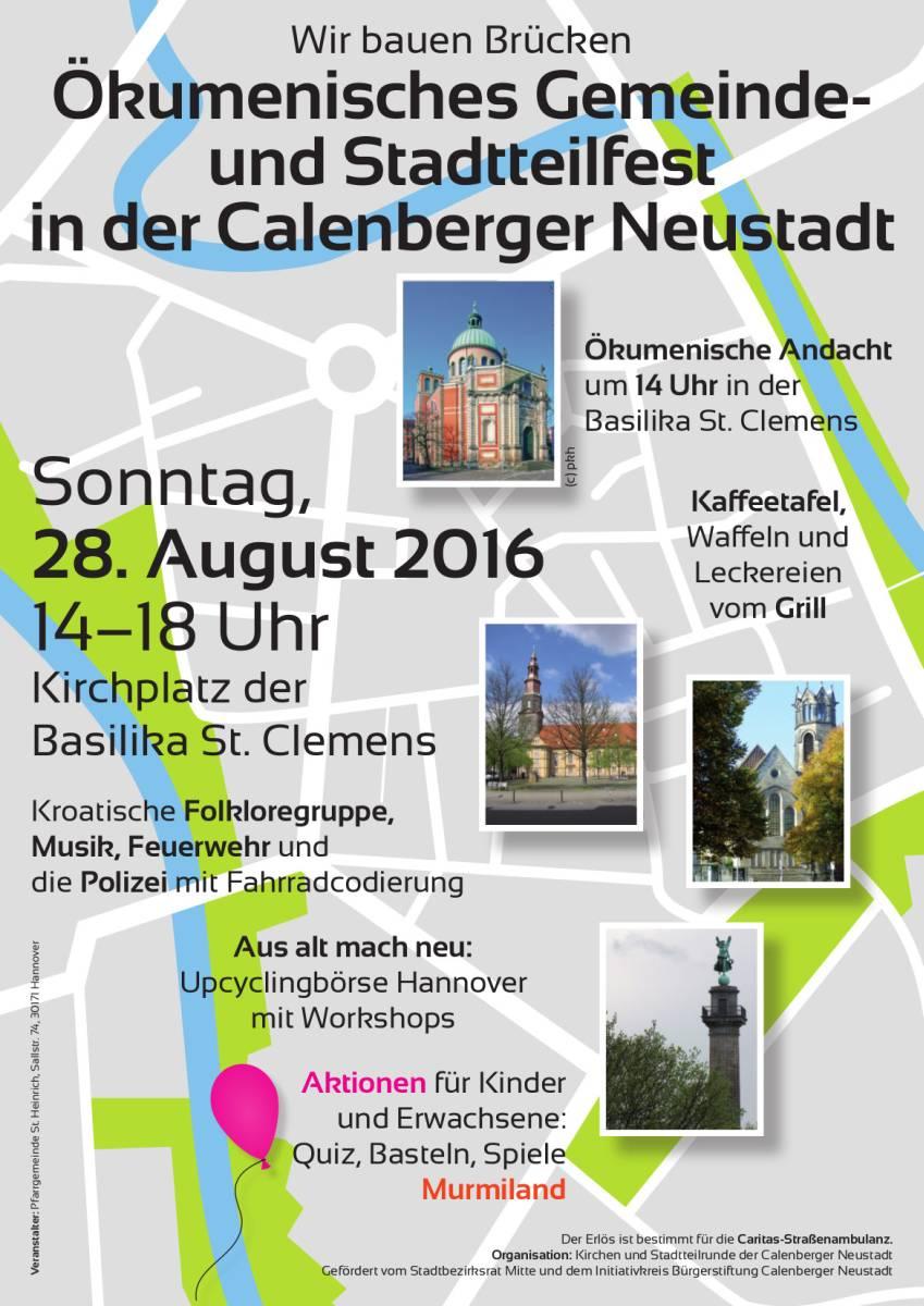 Ökumenisches Gemeinde- und Stadtteilfest Calenberger Neustadt