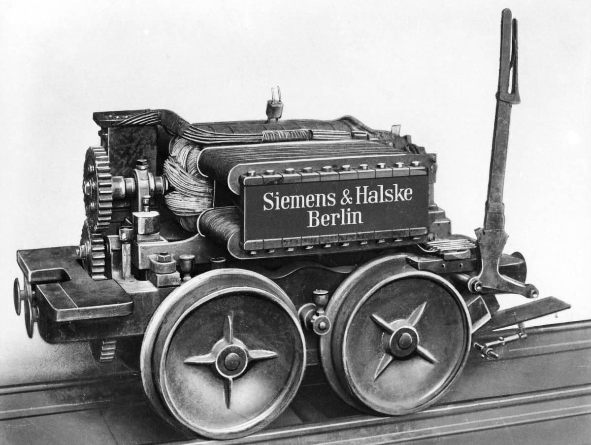 Erste elektrische Eisenbahn 1879