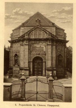 Basilika St. Clemens vor 1945